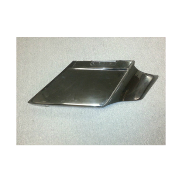 8 INCH FLAT SIDE SADDLEBAGS WITH MOLDED SIDE COVERS