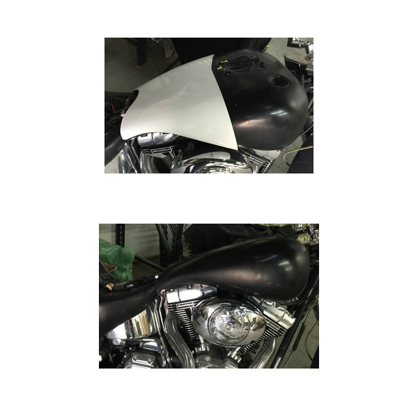 SOFTAIL TANK OVERLAY EXTENSIONS
